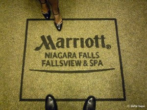 Marriot, Niagara Falls Fallsview & Spa. Niagara Falls 2008.10.07