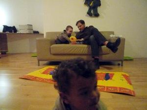 Birthday party with Kidan, Beza and Mark! 2009.01.04 (231)