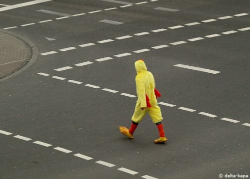 Lindenstr. & Roonstr. Thusday 19. Febr. 2009 (Karneval in Cologne)