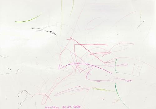 Drawing (Leonidas, Tuesday 12 May 2009)