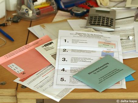 Briefwahl (postal vote)
