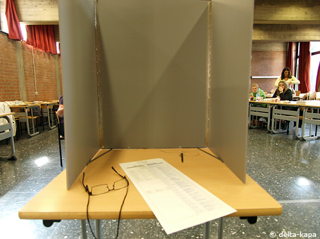 Elections day in Germany, Sept. 27, 2009