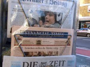 Berliner Zeitung, Financial Times Deutschland 4.3.2010 Τσατισμένοι Έλληνες