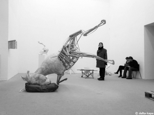 Sculpture: Julia Wilczewski, from the Prof. Anthony Cragg class. Rundgang 2011, Kunstakademie Düsseldorf
